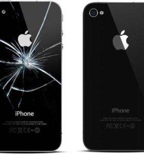 Замена крышки iPhone 4s