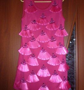 Платье. 128-134 см.