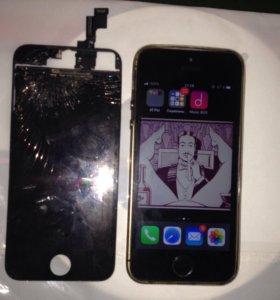 Замена Дисплея iPhone 5S/SE