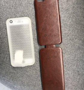 Водонепроницаемый и кожанный чехлы на iPhone 6S
