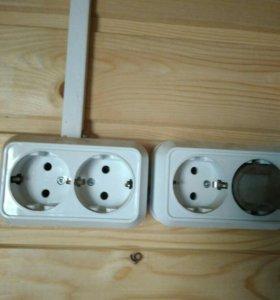 Услуги по электрике от розеток до замены проводки