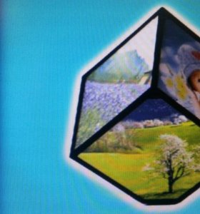 Фоторамка Куб на 6 фотографий