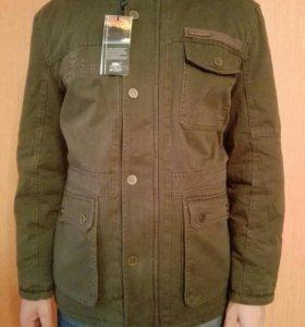 Куртка новая, муж, демисез,цвет хаки, рост 170-175