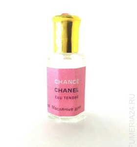 """Масляные духи Chanel Chance """"Eau Tendre"""", 12 мл."""