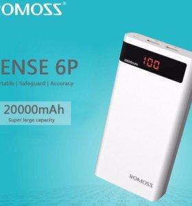 Romoss Sense 6p 20000 mAh EAC
