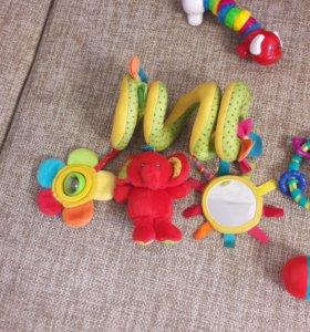 Погремушки, игрушки + подарок