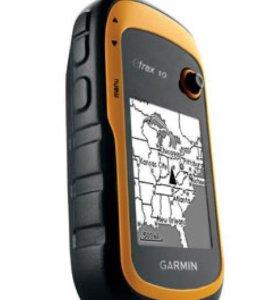 Навигатор eTrex 10 GPS, Glonass