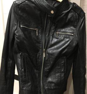 Кожаная куртка. Новая!