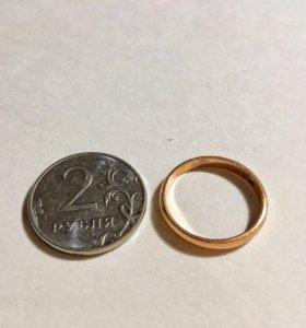 Кольцо обручальное (золото 585)