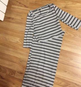 Бершка юбка и топ