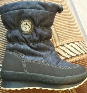 Ботинки зимние Аляска 25р