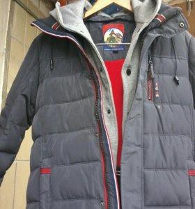 Куртка зимняя новая 146-152р
