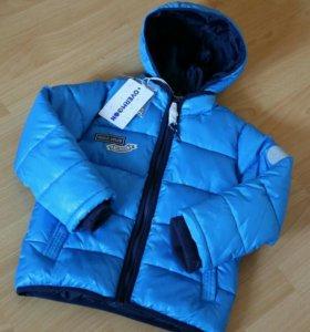 Куртка демисезонная новая, 110, 116