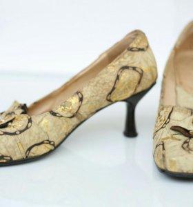 Настоящие туфли от Bianco Bucci