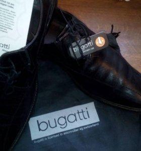 Ботинки Италия мужские, удобные, кожа.