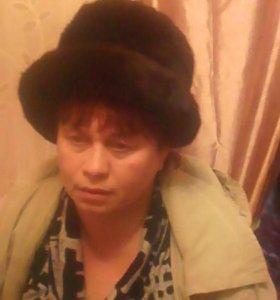 Норковая шляпка