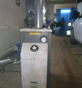 Газовый котёл и насос для системы отопления
