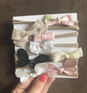 Набор повязок для девочки