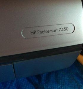 Фотопринтер HP