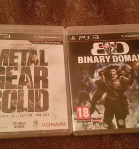 Metal Gear Solid и Binary Domain для PS3
