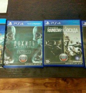 Игры для PlayStation 4 (500 руб.)