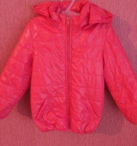 Курточка на девочку от 4 лет