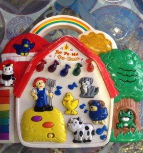 Детская музыкальная игрушка б/у