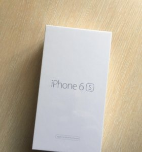 IPhone 6s 64gb space gray RFB новый