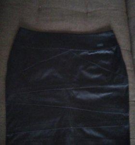 Атласная юбка Оджи