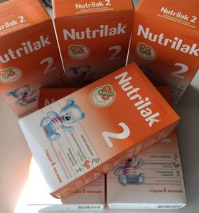 Молочная смесь Nutrilak 2 с 6 мес. (350 г)