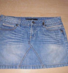 Юбка джинсовая р.48-50