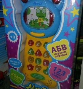 Телефон музыкальный+ алфавит