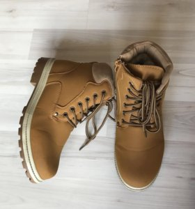 Зимние ботинки тимберленд