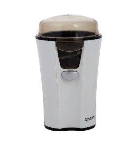 Кофемолка SCARLETT SC-010 белый, 180 Вт, 40 гр