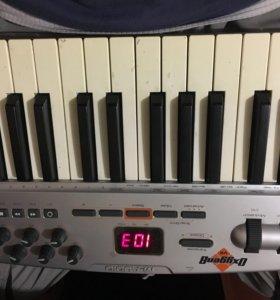 Клавиатура MIDI m-audio oxygen 8v2