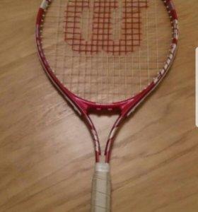 Детская ракетка для большого тениса + чехол
