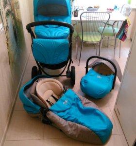 Детская коляска Tutis 3 в 1 TAPU-TAPU