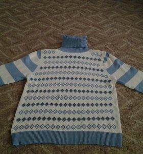 Детский свитерок с горлышком
