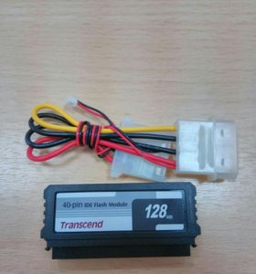 Диск TS128mdom40V-S 128MB IDE Flash DOM Transcend