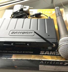 Радиомикрофон Samson q7