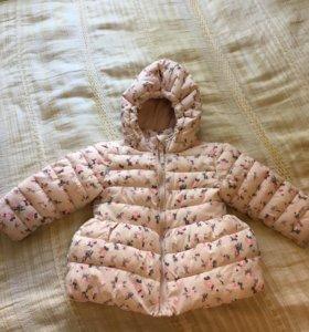 Куртка зимняя для девочки Baby Go