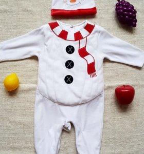 Костюм снеговика Mothercare