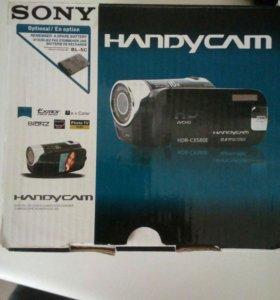 Видеокамера soni hanbykam