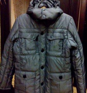 Новая мужская зимняя куртка 48-50
