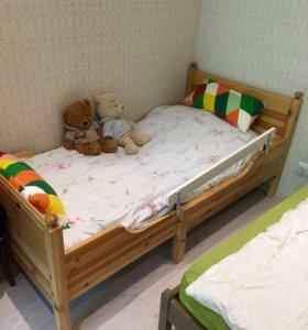 Детская кровать Икея раздвижная