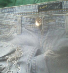 Рваные джинсы Perfect LA CARINO