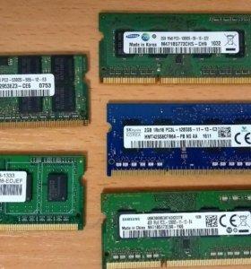 Модули памяти для ноутбука