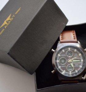 Новые брутальные часы в фирменной коробке
