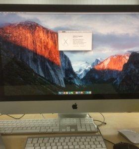 iMac 27 i5, 16gb, AMD Radeon 2gb, 2,12 TB HDD+SDD