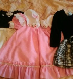 Праздничное платье детское